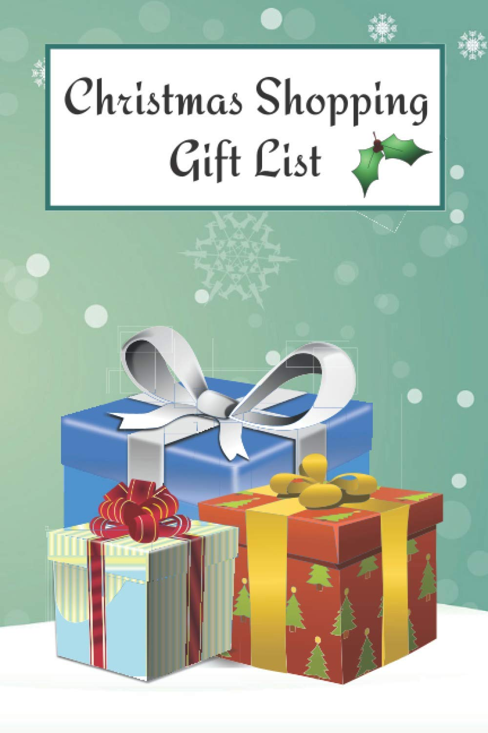 Christmas Shopping Gift List Holiday Season Organizer Tracker Planner For Gifts Ideas You Want To Buy Daicop Sj 9798683393823 Amazon Com Books