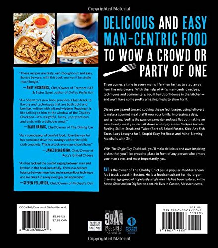 The single guy cookbook how to cook comfort food favorites faster the single guy cookbook how to cook comfort food favorites faster easier and cheaper than going out avi shemtov 9781624141157 amazon books forumfinder Image collections