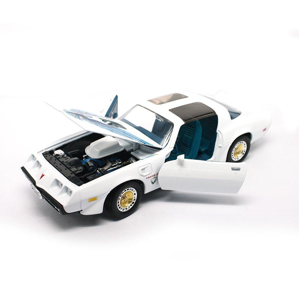 Lucky moul/é sous Pression 92378/WHT Lucky Die Cast 1 18/1979/Pontiac Firebird Trans AM Blanc