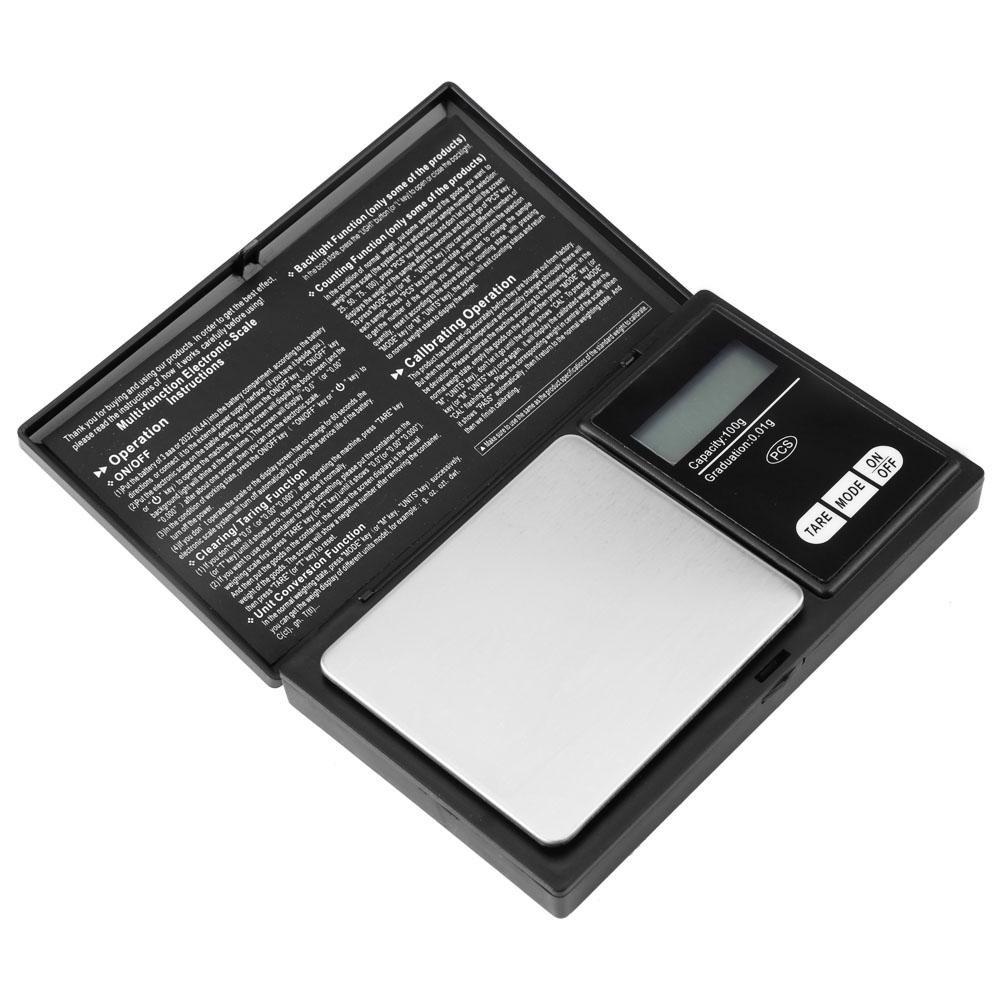 Akozon Digital Mini Scale, Bascula de Joyería de Bolsillo, Balanza Electrónica Inteligente, Balanza de Bolsillo Digital(100g/0.01g): Amazon.es: Industria, ...
