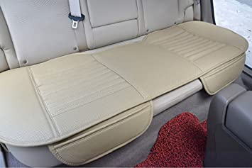 EDEALYN Auto Interior Accessories Styling PU Leather Charcoal Car Seat Cover Pad Cushion Mat Protective