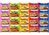 Nissin Instant Ramen Noodles Variety Pack 5 Flavors by Variety Fun (20 Count) Review