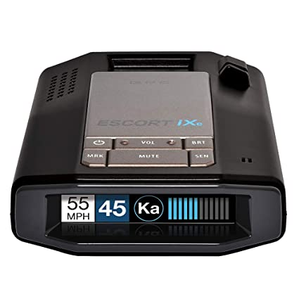 ESCORT iXc - Laser Radar Detector, Connected Car, Fewer False Alerts, Auto Learn