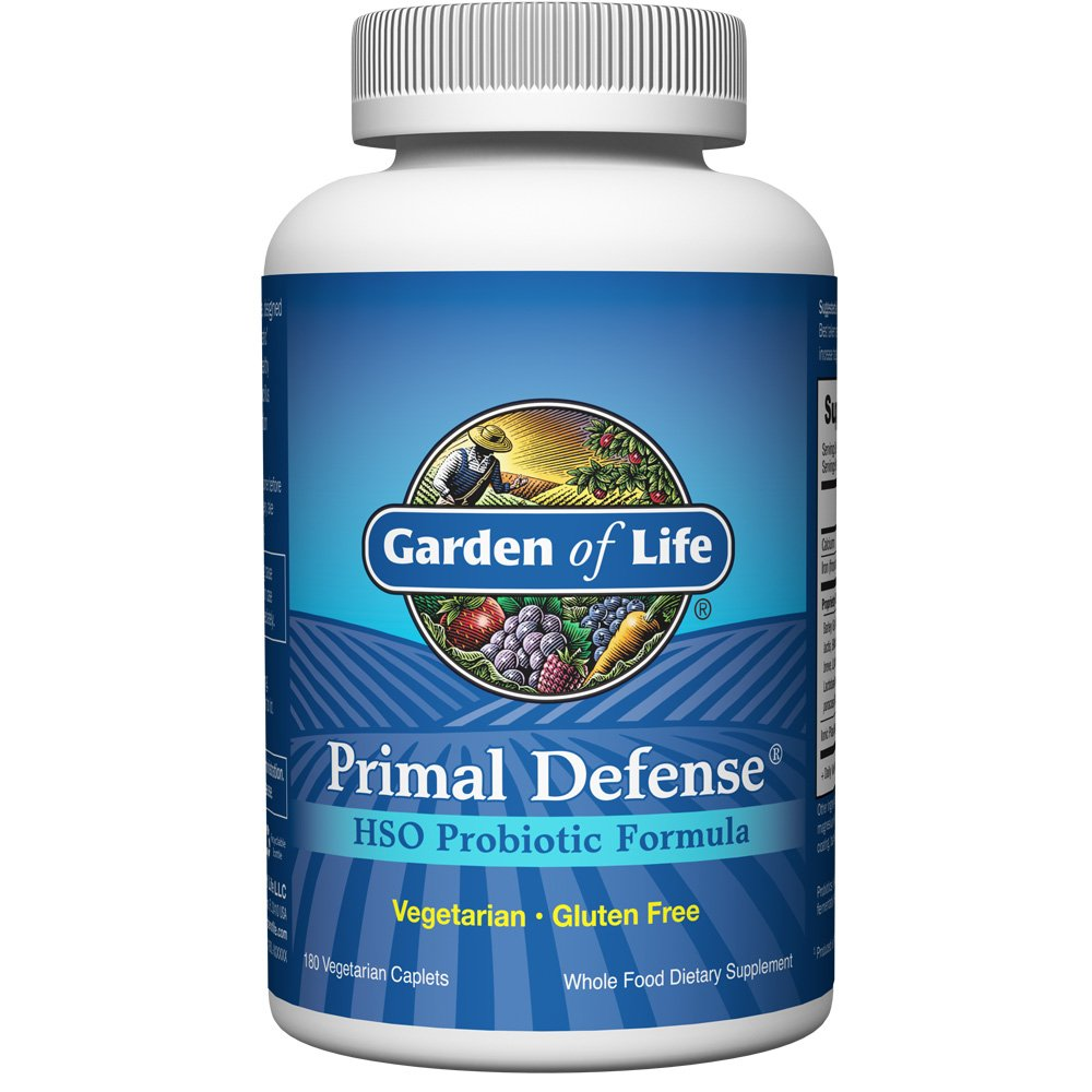 Garden Of Life Vegetarian Digestive Supplement Omega Zyme Enzyme Blend For