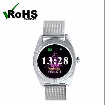 Reloj Intelligent Bluetooth smartwatch con Alarma y ...