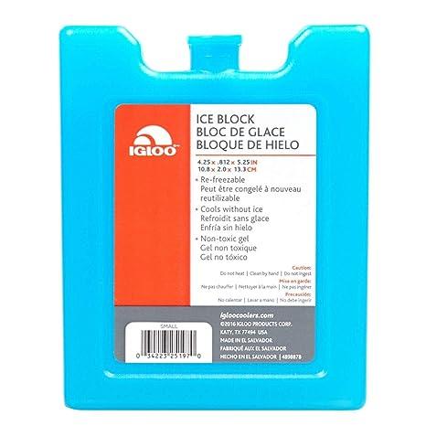 Igloo MaxCold Ice Extra Large Freezer Block 12 Large x 1.75 W x 10.5 H Blue