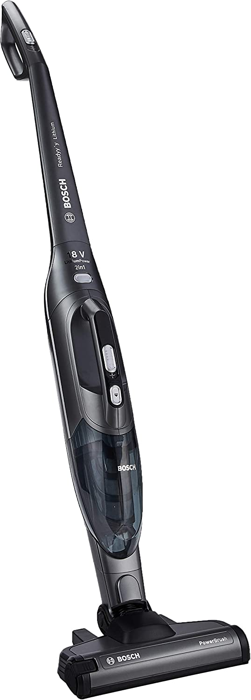 Bosch bbhl21841 Aspirateur Noir (sec, 0,4 L, Noir, batterie