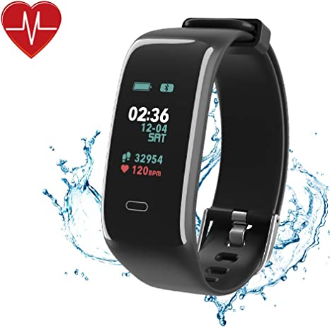 OIUY Pressione Bluetooth Intelligente Orologio da Uomo Sangue Smartwatch Donne Cardiofrequenzimetro Fitness Tracker Sport for Android iOS