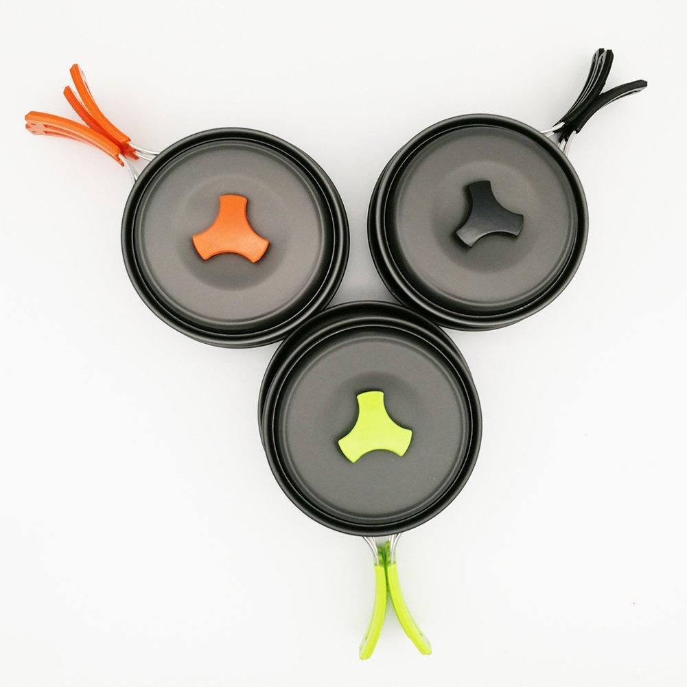 Pot Set Picnic Pot Set Outdoor Camping Alumina Picnic Pot Set Cookware Pot Set