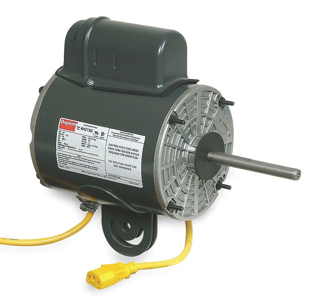 Dayton 4HZ13 Motor, 1/4 HP, Yoke