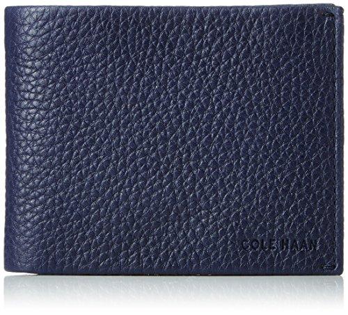 Cole Haan Men's Brayton Bifold, marine blue, No No Size Cole Haan Slim Wallet