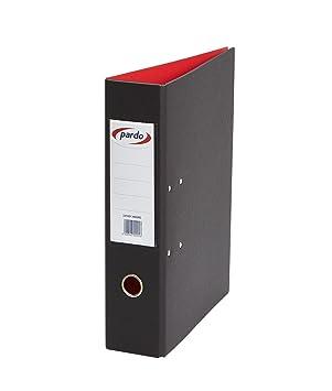 Pardo 2450N - Archivador palanca, 2 unidades, 70 mm, color negro: Amazon.es: Oficina y papelería