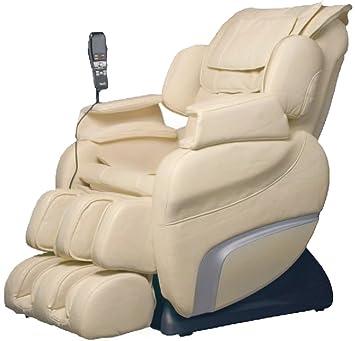 Osaki TI7700RD Model TI 7700R Titan Massage Chair, Cream, Foot Rollers, L