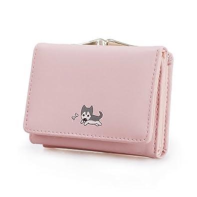 watch 0857f f833b Amazon | 可愛い財布 レディース ミニ 人気 がま口付き 小さい ...