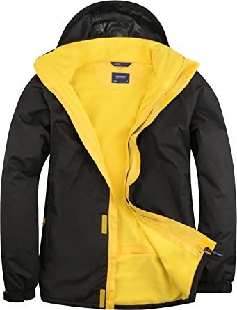40e5df84eb Uneek UC621 Mens Adult Deluxe Outdoor Jacket Waterproof Coat Size XS-4XL   Amazon.co.uk  Clothing