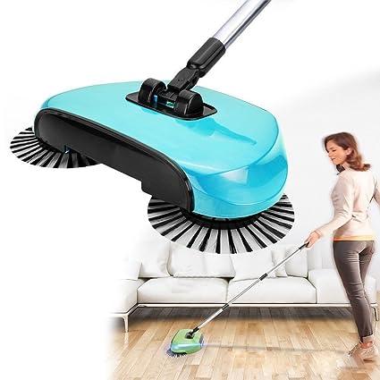 Amazon Mijora Spin Hand Push Sweeper Broom Household Floor Dust