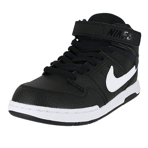 Nike Mogan Mid 2 JR B, Zapatillas de Skateboarding para Hombre, Negro (Black
