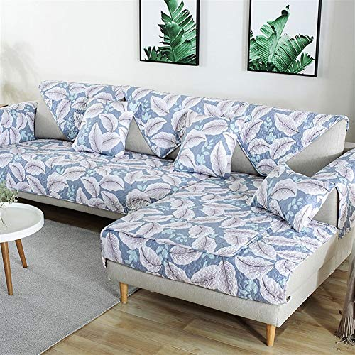 LAZ Couch Cover, Sofa Cover Couch Covers Sectional Anti-Slip Sofa Slipcover for Dogs Cats Pet Love Seat Recliner (Sold by Piece/Not All Set) (Color : L, Size : 90x160cm(35x63inch))