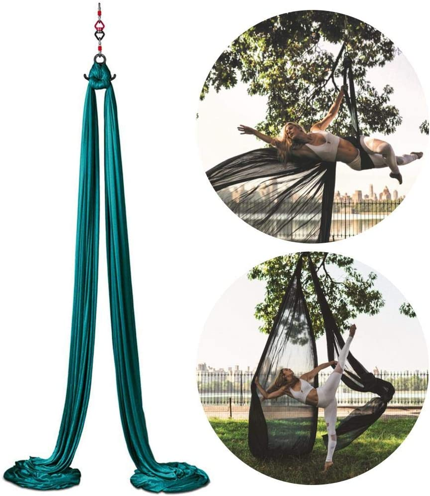 Amazon.com: vividesire Acrobatic Dance Yoga Hammock Aerial ...