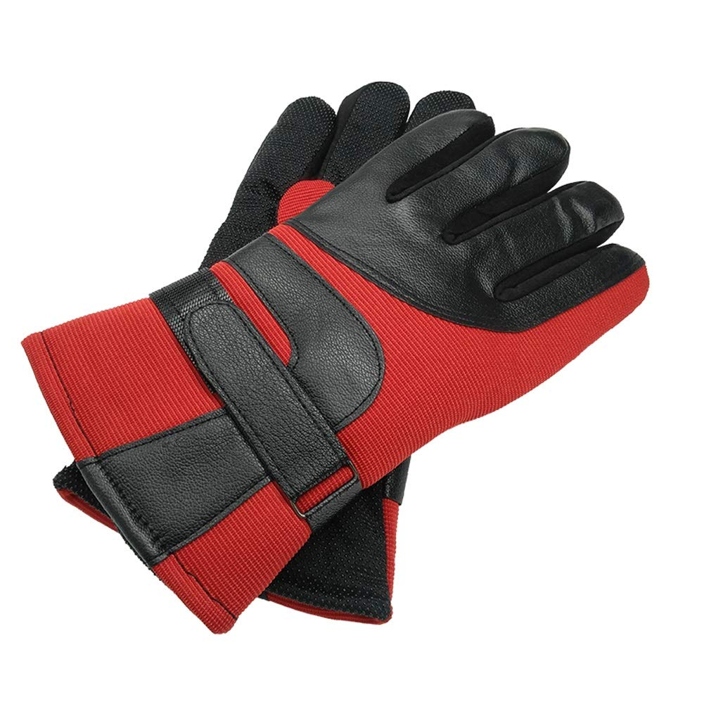 YSNBM Gloves Outdoor Gloves | Winter Thickened Battery Car Warm Motorcycle Windproof Full Finger Gloves Wind and Cold Men and Women Cycling Gas Station,Dry Ice,Cold Storage,Industrial Glove