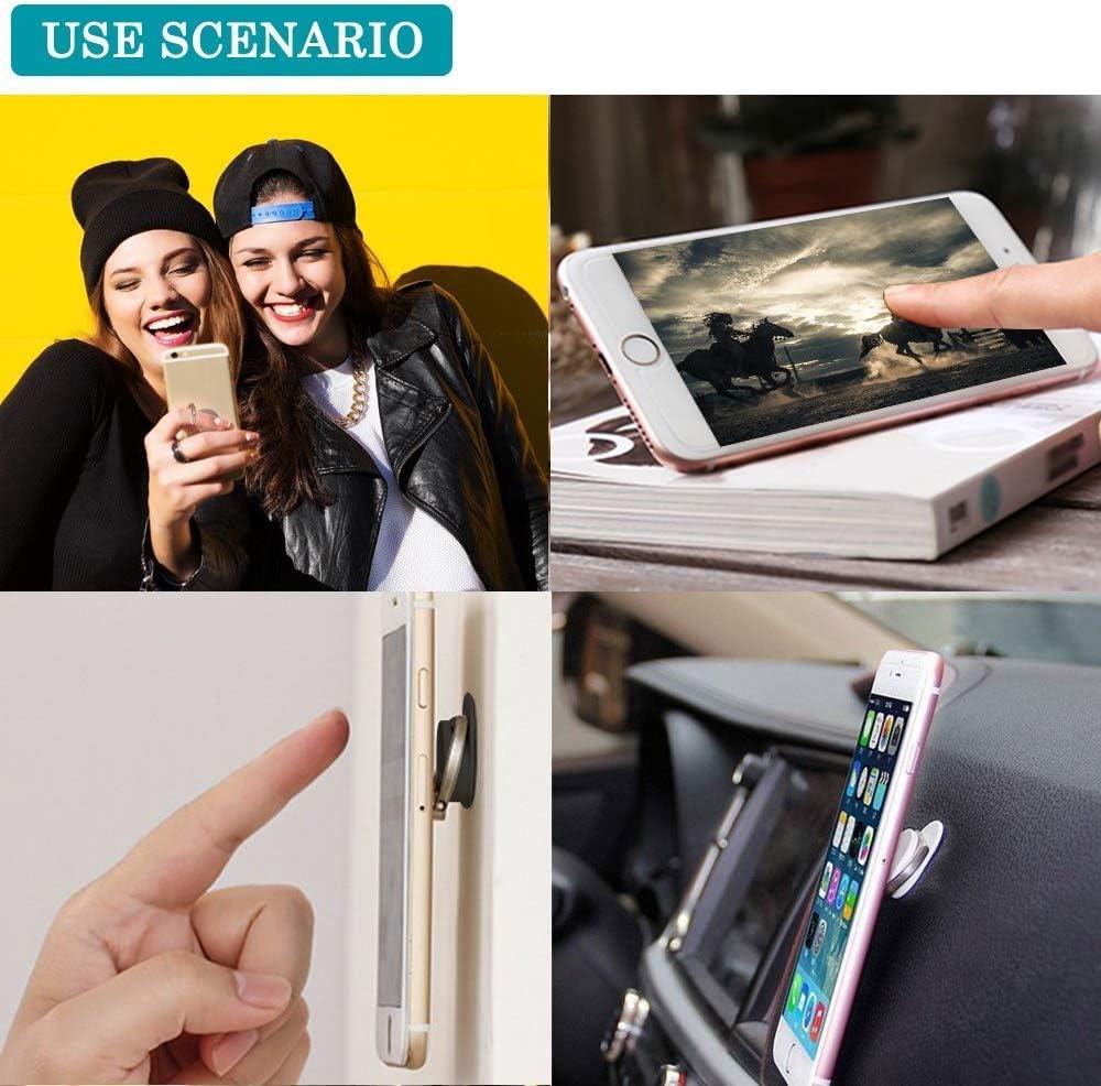no brand QIOLKUIO Support de Ventilation Mains-Libres pour Smartphones et Tablets