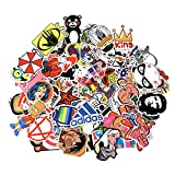 Love Sticker Pack 100-Pcs Sticker Decals Vinyls for Laptop,Kids,Cars,Motorcycle,Bicycle,Skateboard Luggage,Bumper sticker