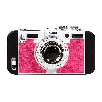 立体カメラ型 iPhoneケース iphone6 iPhone6s iPhone6Plus ネックストラップ付 (iphone6/iPhone6s,