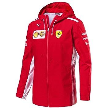 Ferrari Scuderia F1 Racing SF Team Puma Rain Chaqueta Rojo ...