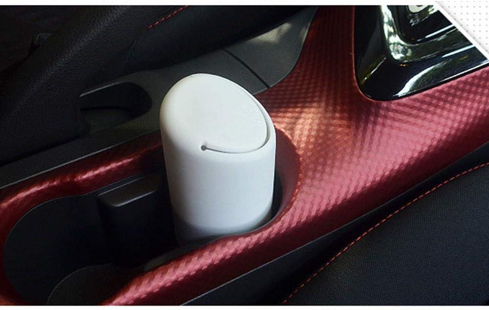 PowerBH Auto Vordersitz Getr/änkehalter M/ülleimer Silikon Cup Auto M/üll Lagerung Tr/ümmer Eimer M/ülltonne Vorratsbeh/älter Manager