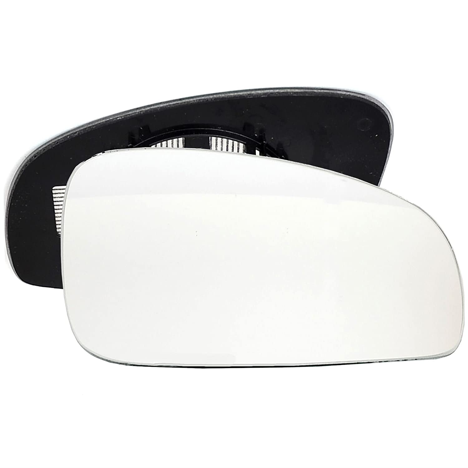 Right Driver side Wing door mirror glass for Skoda Fabia 2007-2014 heated