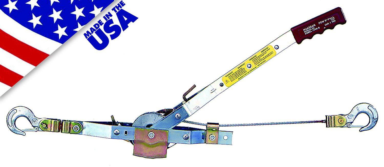 Maasdam Pow'R Pull 144S-6 1 Ton Capacity Pow'R Pull USA Made by Maasdam