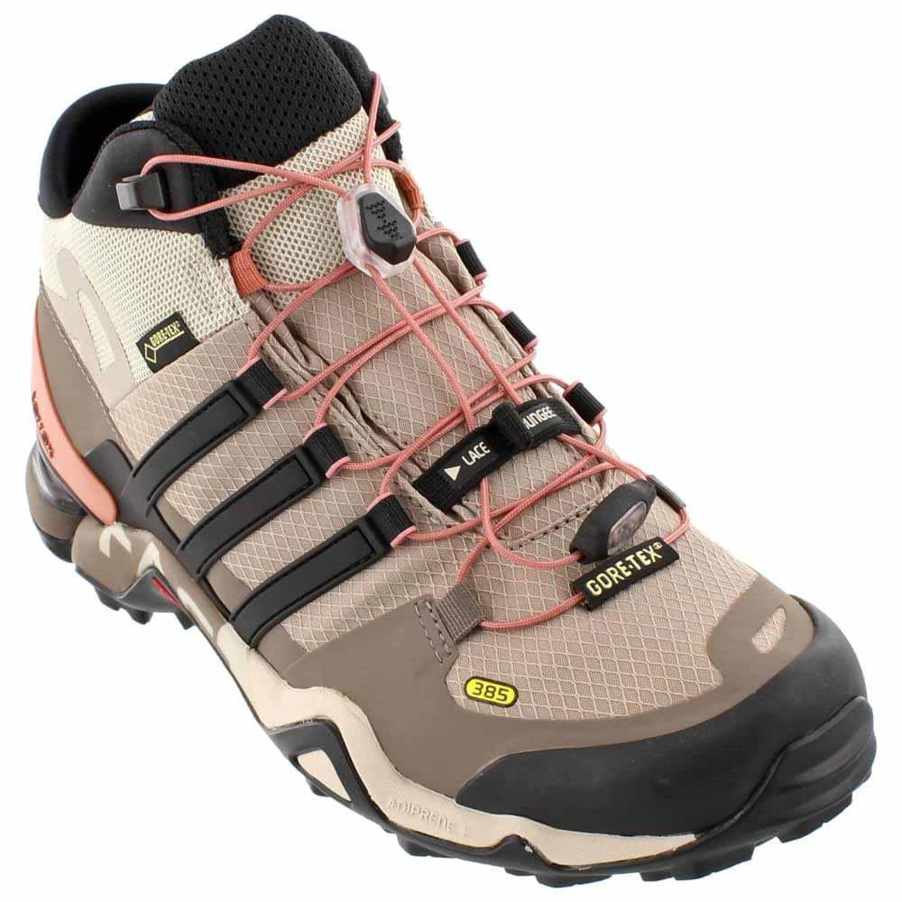 adidas outdoor Womens Terrex Fast R Mid GTX B018WQ7WVI 9.5 B(M) US|Vapour Grey/Black/Tech Earth