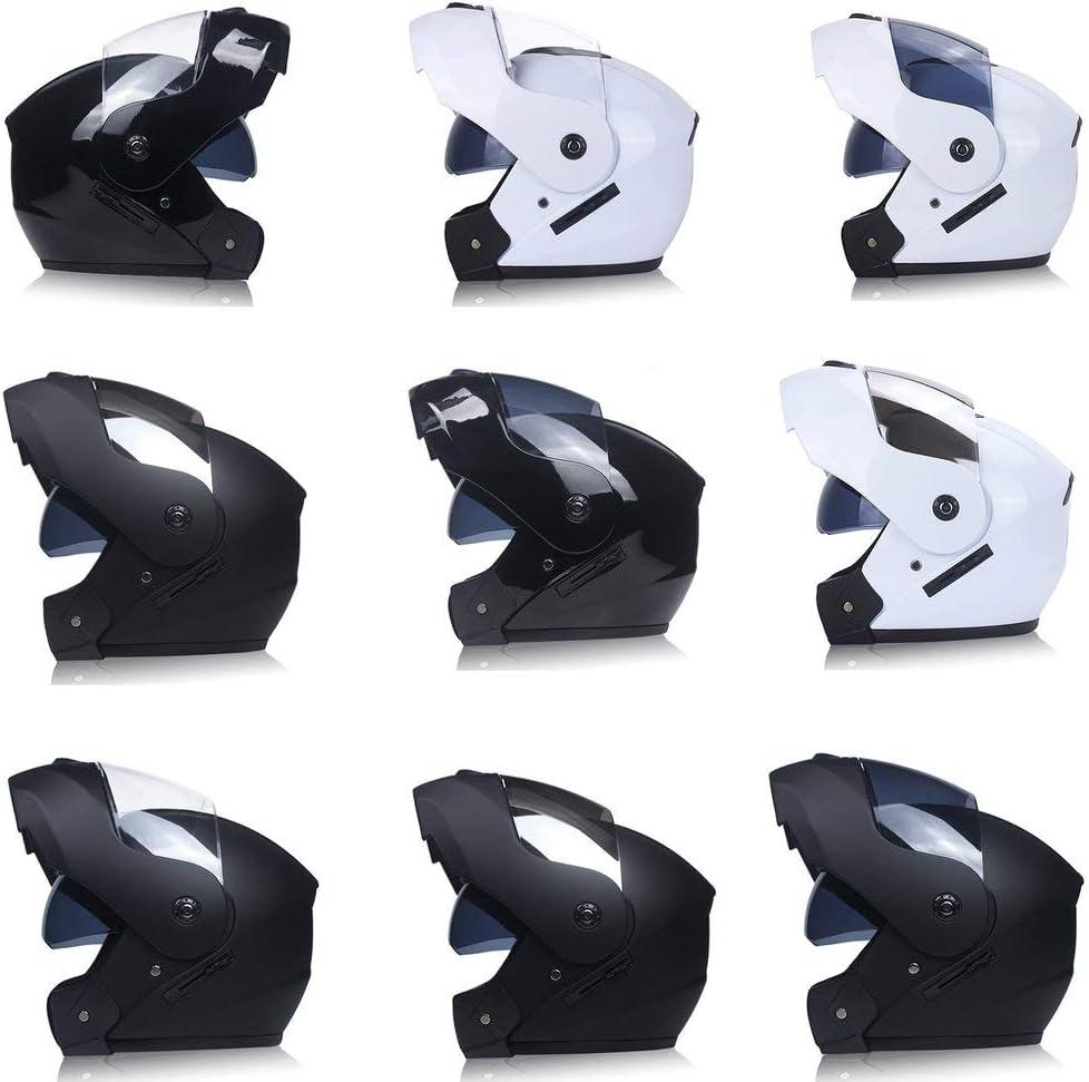002-fr3 Motorradhelm Doppelobjektiv Open Face Helm Integralhelm Rennhelm Matte Black /& Tea S.