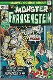 The Monster of FRANKENSTEIN #1 Marvel 1972 Fine + off-white pages Mike Ploog