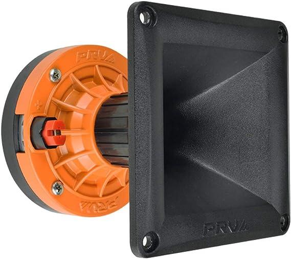 "WG17-25 Black Horn 4x PRV Audio D270Ph-S 1/"" Phenolic Driver 600 Watts 8 Ohms"