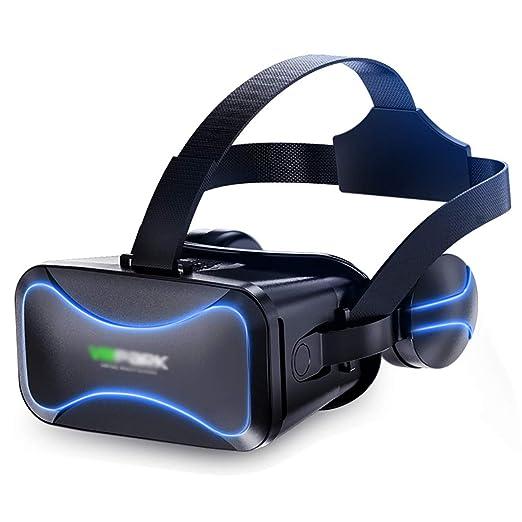 QQLK Gafas de Realidad Virtual 3D con Auriculares - para ...
