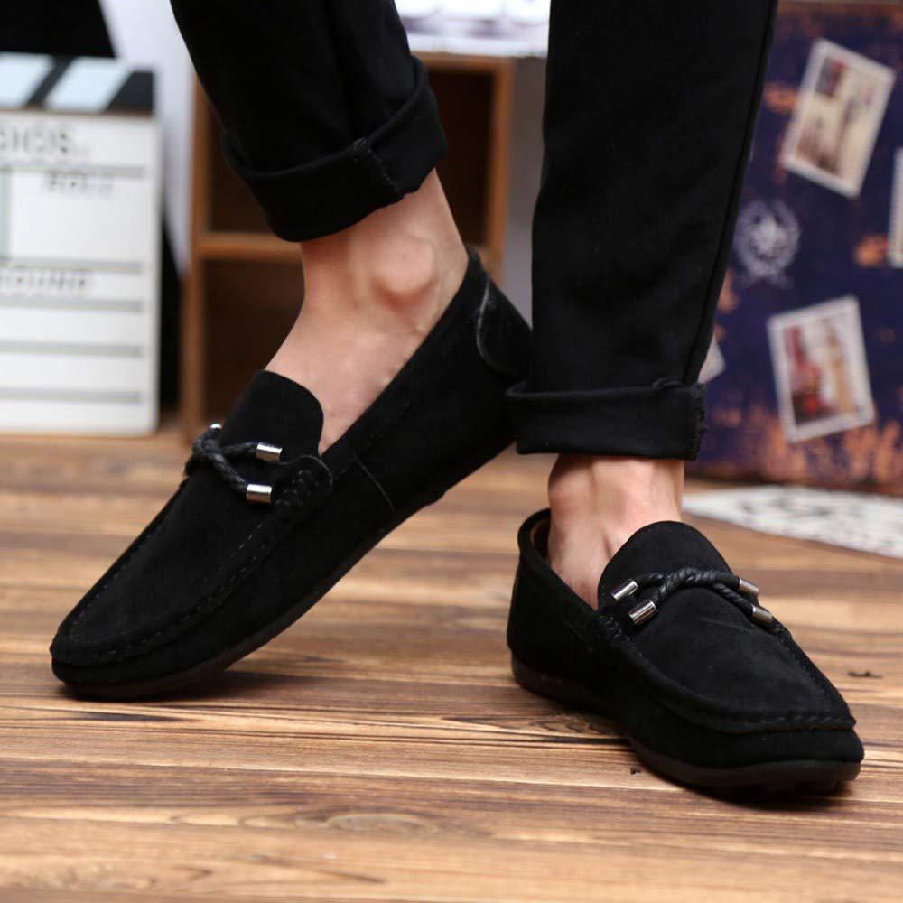 Amazon.com: Big Teresamoon Fashion Suede Beanie Shoes Lazy Mens Shoes Driving Shoes Single Shoes: Home Audio & Theater