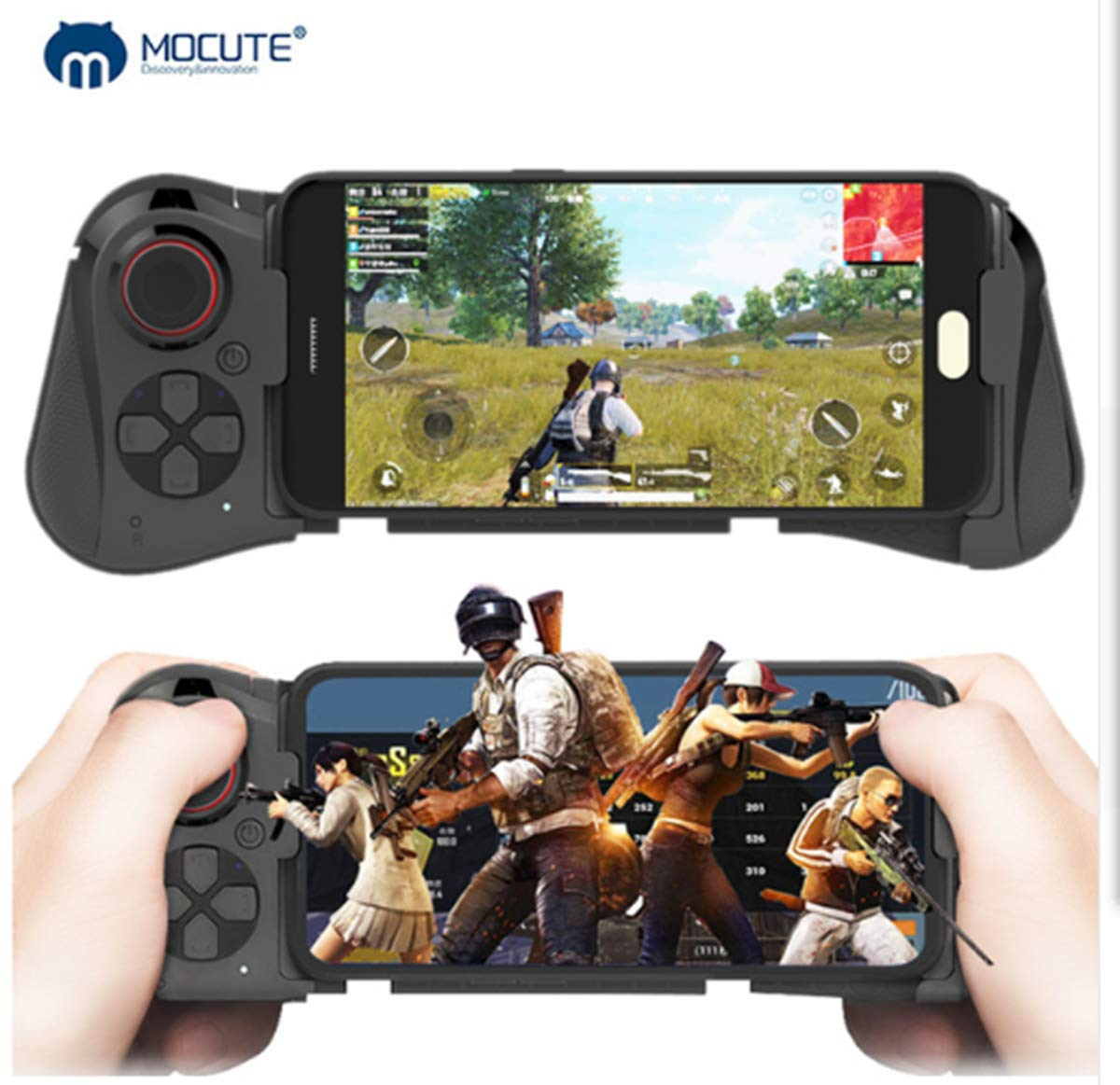 Mocute 058 Wireless BT Gamepad Smart Game Controller for Android Smartphone  Samsung S8, S9 Note 8 Huawei vivo x21 Oppo Android Tablet PC
