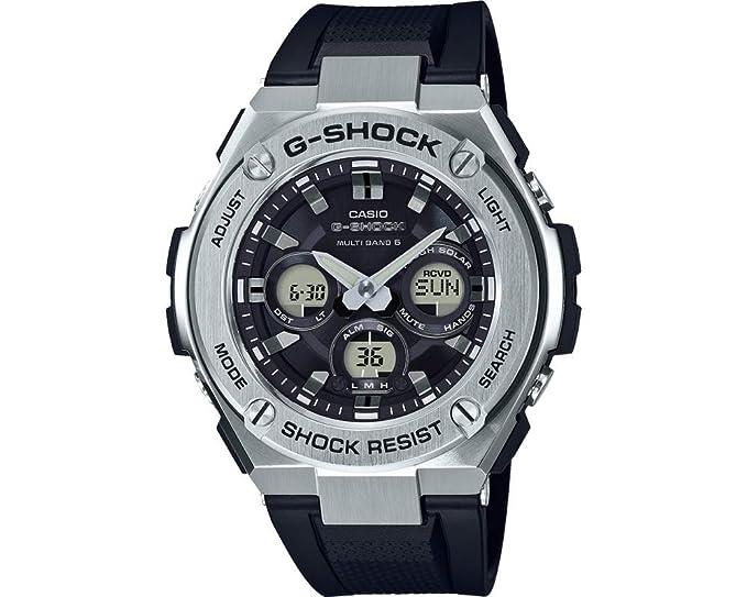 CASIO Reloj Hombre de Digital con Correa en Resina GST-W310-1AER: Amazon.es: Relojes