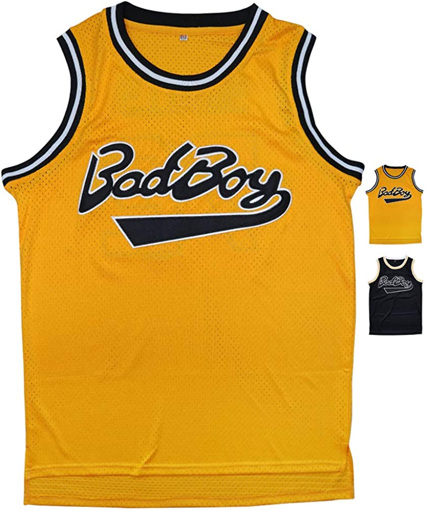 Micjersey BadBoy #72 Smalls Basketball Jersey, 90S Hip Hop Clothing Party S-XXXL: Clothing