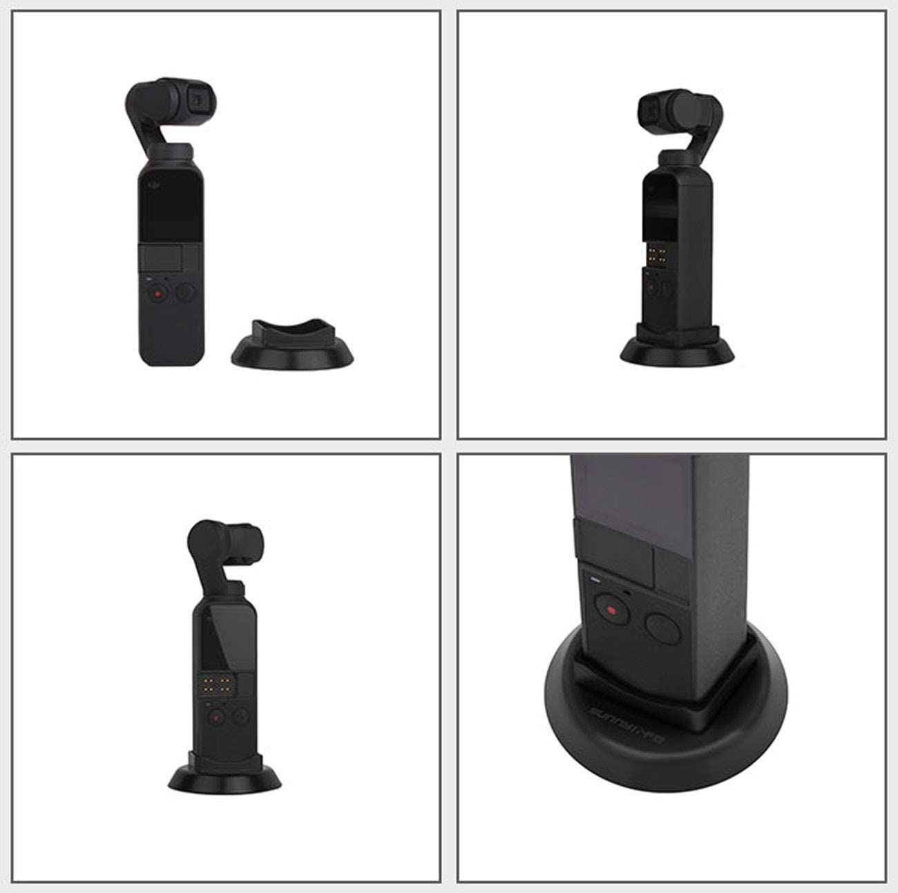 CZFRIEND OSMO Pocket Camera Accessories Kits: Adapter Supporting Base Gimbal Camera Cover Extension Tripod