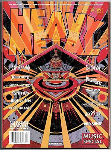 Heavy Metal Magazine #295 Cvr A Megadeth   Slipknot   Mastodon (2019) New!