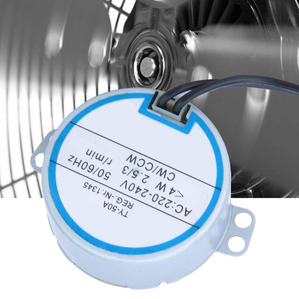 60Hz CW//CCW Richtung 4W Plattenspieler Getriebe Schrittmotor Elektrische Fernbedienung Synchronmotor f/ür Moving Head Fan Synchronmotor AC 220-240V 50