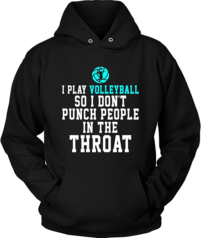 I Knit So I Dont Punch People in The Throat Unisex Sweatshirt