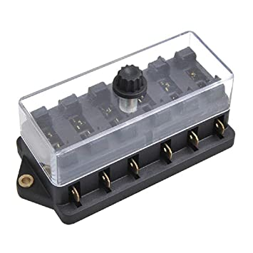 Sicherungskasten 8-fach Sicherungshalter Set Sicherungen ATC ATO KFZ LKW BOOT
