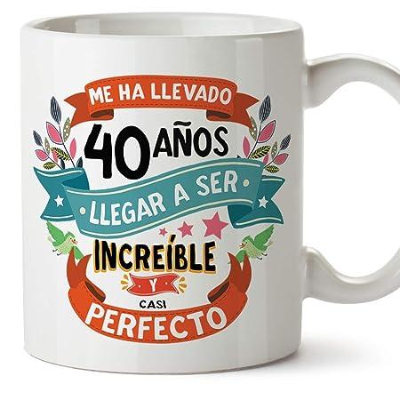 MUGFFINS Taza 40 Cumpleaños -