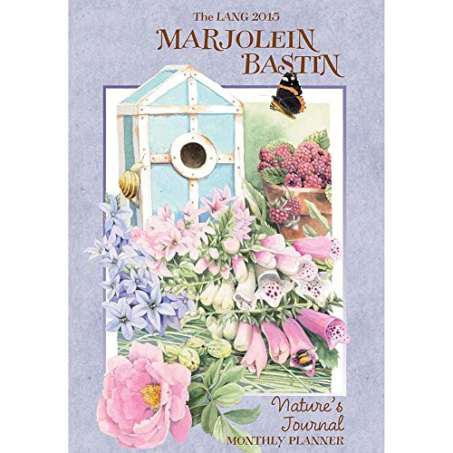 Lang January 2015 to March 2016 8.25 x 12 Inches, Perfect Timing Marjolein Bastin Natures Journal Monthly Planner (1012089)