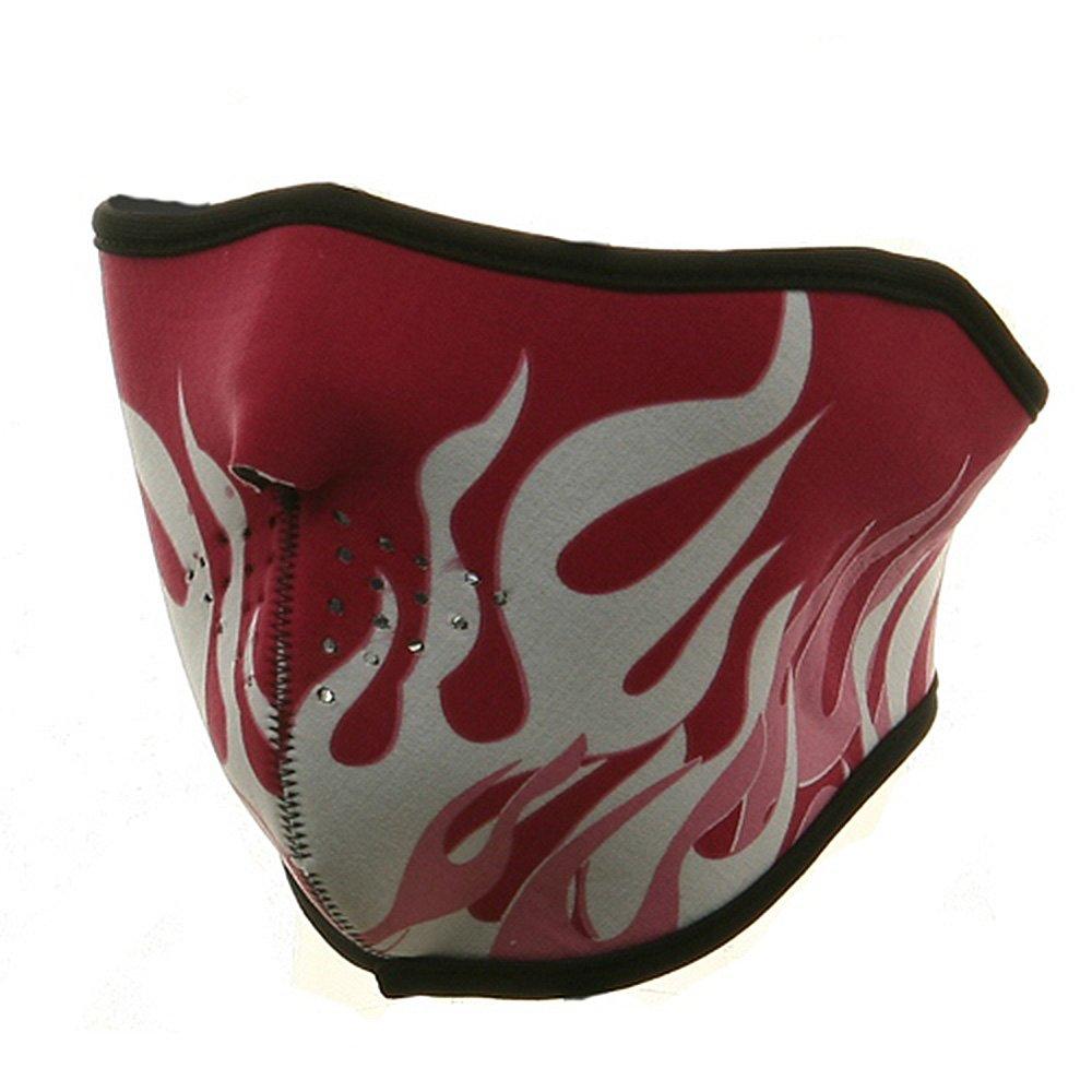 Balboa/Zan Neoprene Half Face Mask - Pink Flame