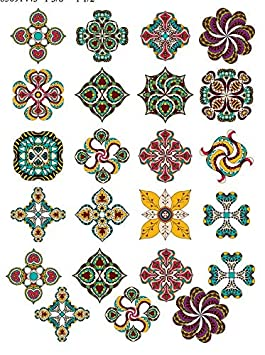 Choose Either Ceramic 3 Different Size Sheet 850911 to Choose from or Glass Fusing Decals Glass Decal Images Enamel Ceramic Decal Enamel Decal Waterslide Decal Colorful Symbols