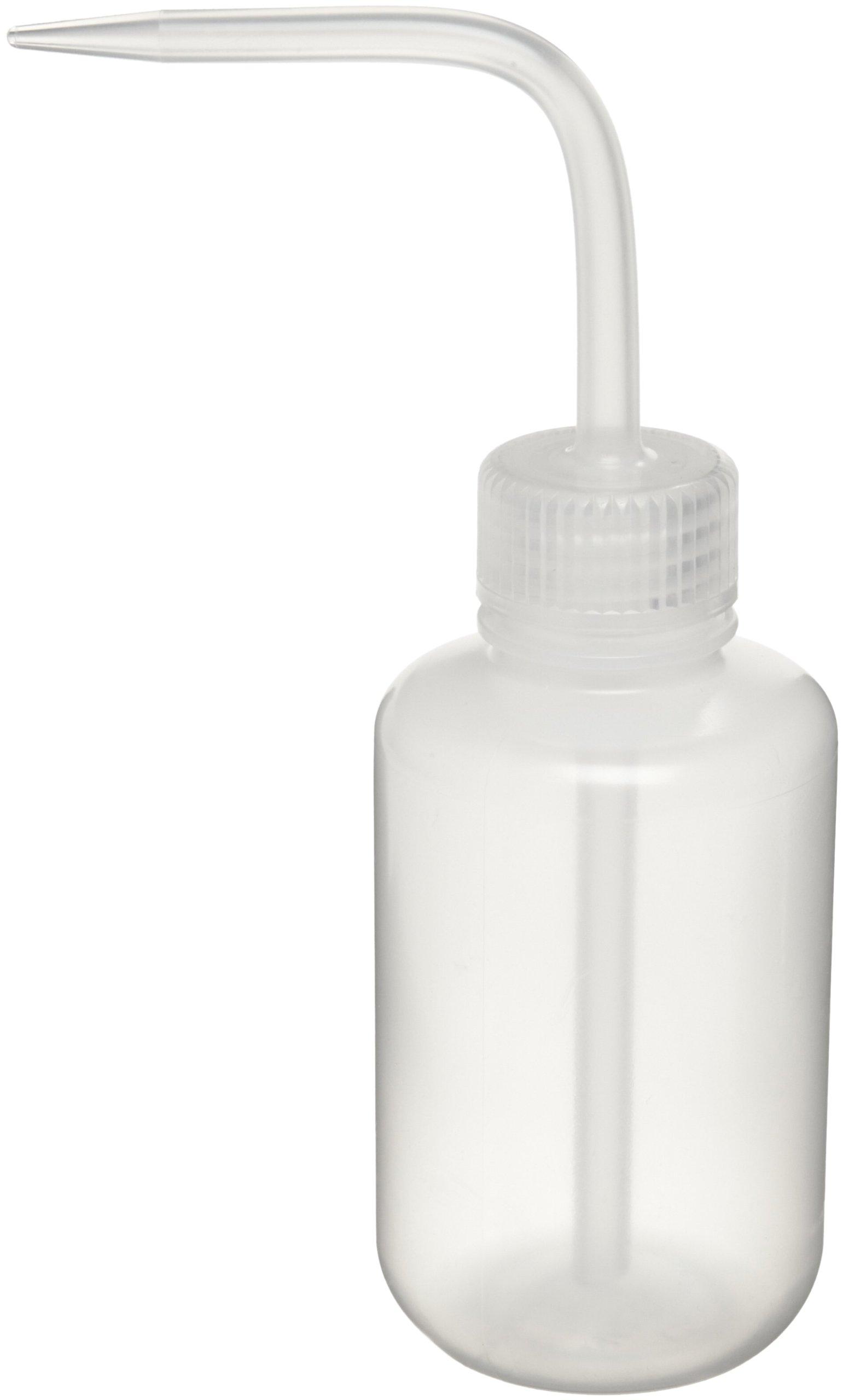 Nalgene 2401-0125 Economy Wash Bottle, LDPE, 125mL (Pack of 6)